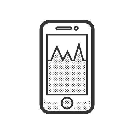 medical check: Medical Device Icon, Check pressure On Mobile