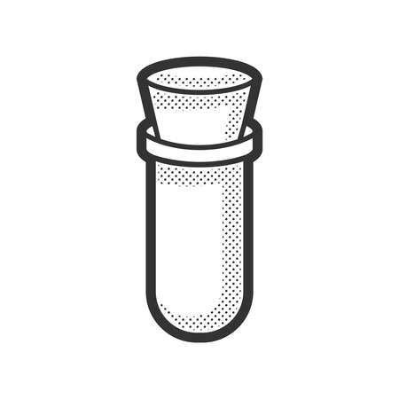 medical device: Medical Device Icon, test tube