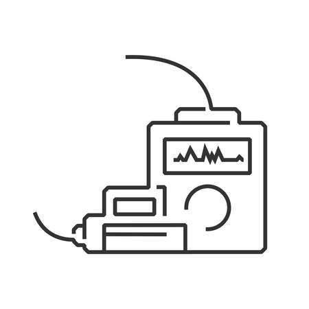 line icon Medical Device Icon, cpr icon