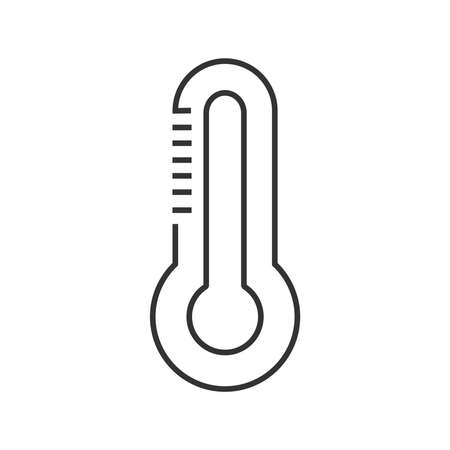 medical device: line icon Medical Device Icon, Thermometer