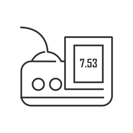 medical device: line icon Medical Device Icon, Pressure