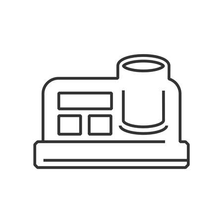 medical device: line icon Medical Device Icon, blood test