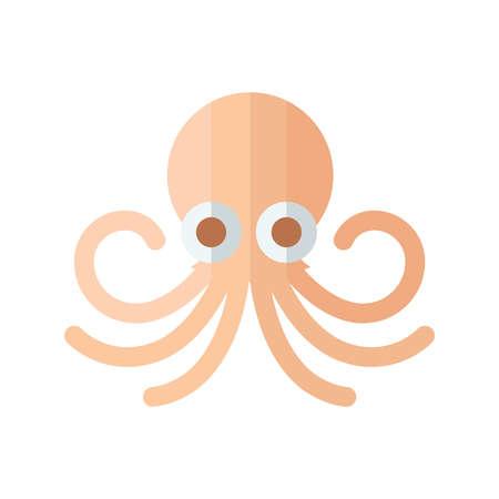 tentacle: Design Squid orang