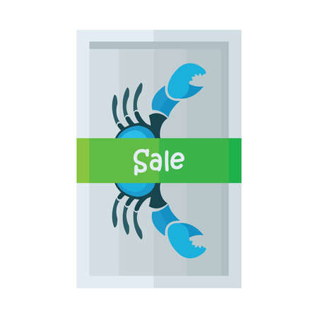 blue crab: design vector sale blue crab