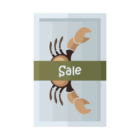 crab legs: design vector sale brown crab