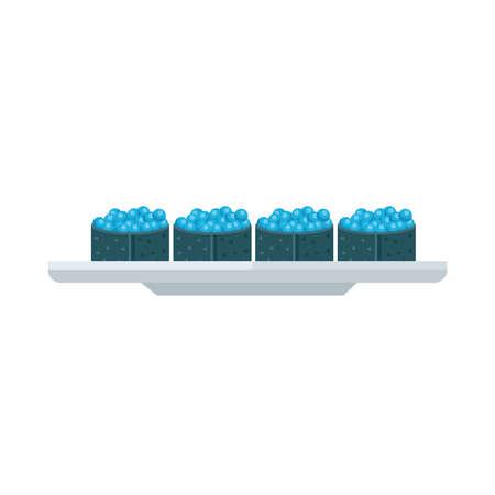 spawn: blue spawn sushi rolls