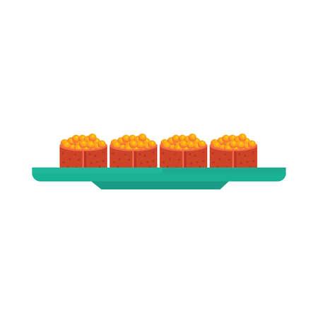spawn: yellow spawn sushi rolls