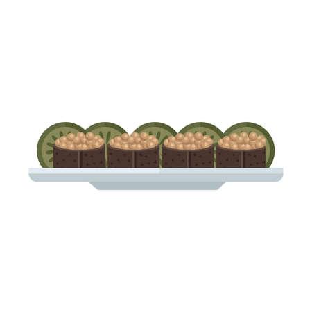 spawn: brown spawn sushi rolls set