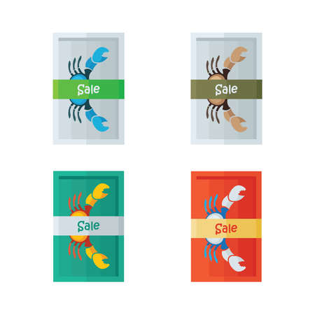 crab legs: design vector sale crab
