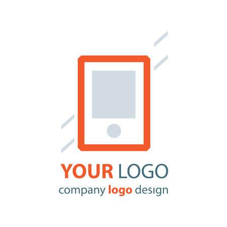 phone logo: phone logo orange