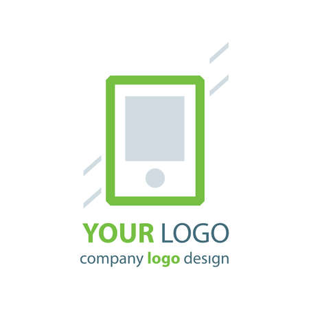 phone logo: phone logo green logo