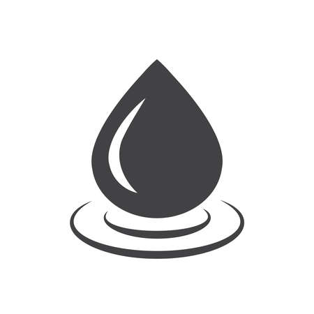 condensation on glass: drop of water icon  vector