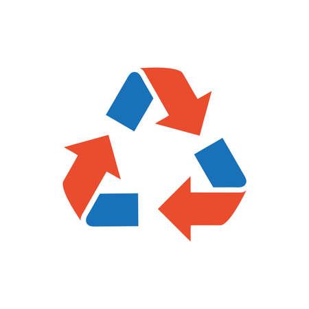 refresh icon: design Refresh Icon  blue and orange