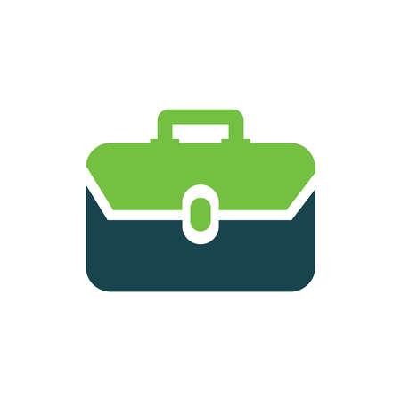 Bag Flat icon Illustration