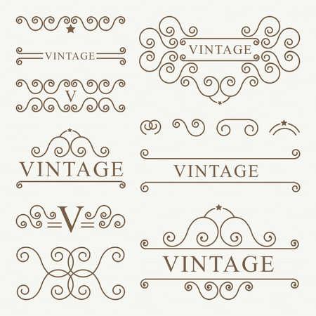 vintage ornament: ornament vintage design