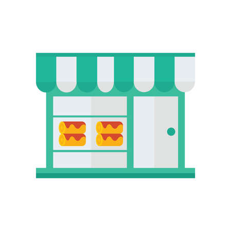 orange cake: cake roll Shop icon  green, orange color
