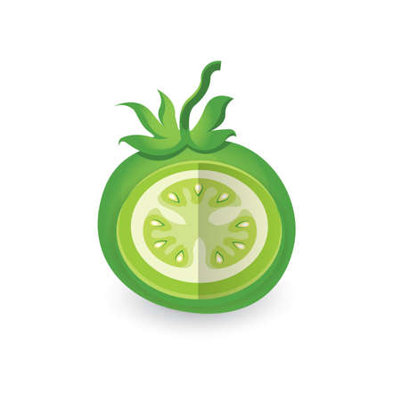 dissect: dissect Green Tomato 3D Icon