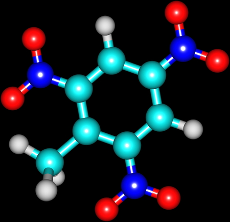 Trinitrotoluene or TNT is known as a useful explosive material with convenient handling properties