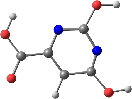 Orotic acid is a heterocyclic compound, and it is also known as pyrimidinecarboxylic acid  It was believed to be part of the Vitamin B13