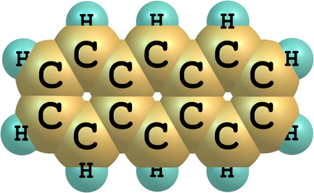 hydrocarbon: Anthracene is a solid polycyclic aromatic hydrocarbon of formula C14H10, consisting of three fused benzene rings  It is a component of coal tar