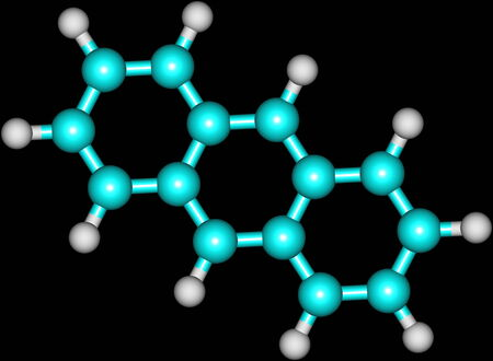 Anthracene is a solid polycyclic aromatic hydrocarbon of formula C14H10, consisting of three fused benzene rings  It is a component of coal tar
