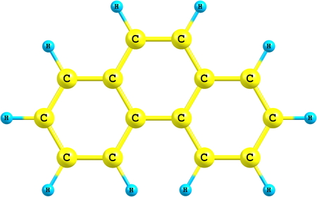 Phenanthrene is a polycyclic aromatic hydrocarbon composed of three fused benzene rings