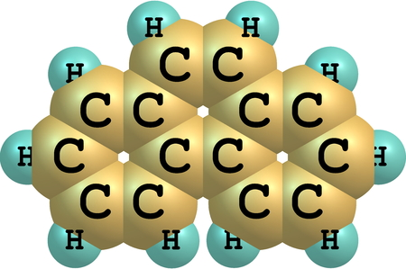hydrocarbon: Phenanthrene is a polycyclic aromatic hydrocarbon composed of three fused benzene rings