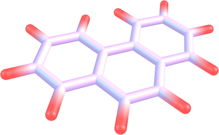fused: Phenanthrene is a polycyclic aromatic hydrocarbon composed of three fused benzene rings