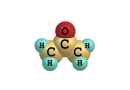 Acetone (propanone) is the organic compound with the formula (CH3)2CO. It is a colorless, mobile, flammable liquid, and is the simplest ketone.