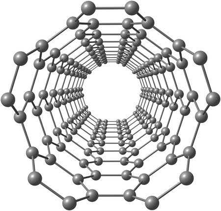 Looking into a carbon nanotube photo