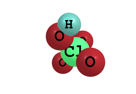 inorganic: Perchloric acid is an inorganic compound with the formula HClO4. Usually found as an aqueous solution.