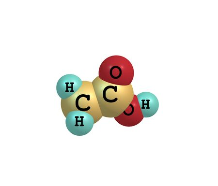 formic: Acetic acid (ethanoic acid) is an organic compound with the chemical formula CH3COOH. It is a colourless liquid that when undiluted is also called glacial acetic acid Stock Photo