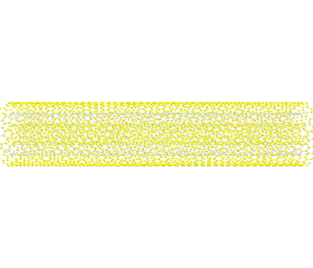 Multi-walled carbon nanotube  MWNT  on white  photo