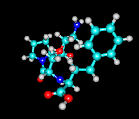 insuficiencia cardiaca: Lisinopril es un f�rmaco de la clase de los inhibidores de la enzima convertidora de angiotensina (ACE) que se utiliza principalmente en el tratamiento de la hipertensi�n arterial, insuficiencia card�aca congestiva y los ataques al coraz�n Foto de archivo