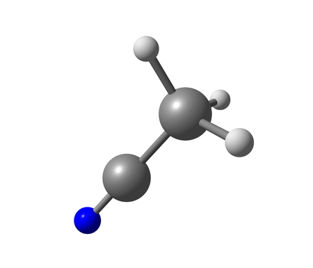 styrene: Acetonitrile is the chemical compound with the formula CH3CN. It is produced mainly as a byproduct of acrylonitrile manufacture. It is used as a polar aprotic solvent in organic synthesis and in the purification of butadiene.