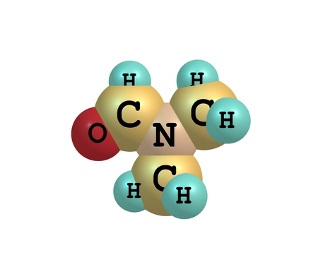 organic compound: Dimethylformamide (DMF) is an organic compound with the formula (CH3)2NC(O)H. Commonly abbreviated as DMF. This colourless liquid. DMF is a common solvent for chemical reactions Stock Photo