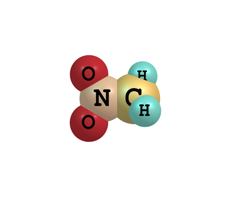organic compound: Nitromethane is an organic compound with the chemical formula CH3NO2. It is the simplest organic nitro compound. It is a slightly viscous, highly polar liquid Stock Photo