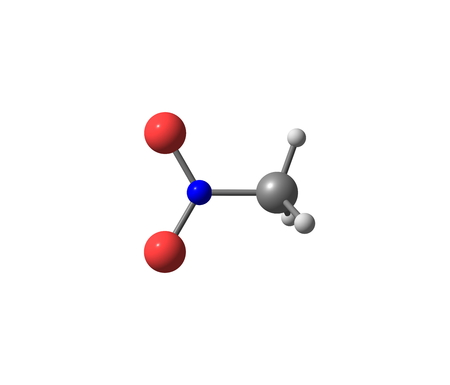 simplest: Nitromethane is an organic compound with the chemical formula CH3NO2. It is the simplest organic nitro compound. It is a slightly viscous, highly polar liquid Stock Photo