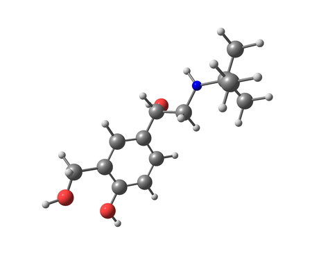 agonist: Salbutamol (INN) or albuterol (USAN) is a short-acting adrenergic receptor agonist used for the relief of bronchospasm in conditions such as asthma and chronic obstructive pulmonary disease