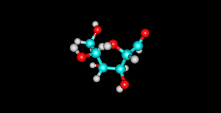 monomer: Mannose is a sugar monomer of the aldohexose series of carbohydrates. Mannose is important in human metabolism, especially in the glycosylation of certain proteins Stock Photo