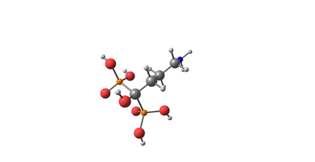 necrosis: Alendronic acid or alendronate sodium is a bisphosphonate drug used for osteoporosis and several other bone diseases