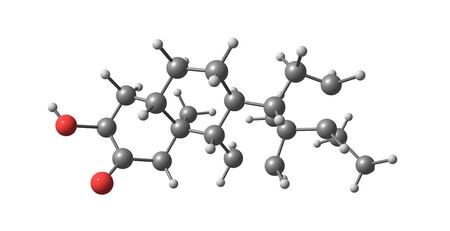 progesterone: Structural model of Allopregnanolone, or Tetrahydroprogesterone. It is a hormone related to Progesterone. It is a promising drug in the treatment of Alzheimers Disease.