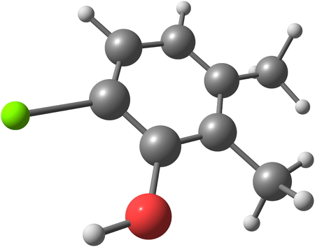 antimicrobial: Chloroxylenol is a broad spectrum antimicrobial chemical compound used to control bacteria, algae, fungi and virus