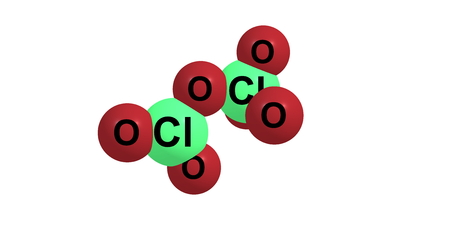 quimica organica: Perclorato Chloryl o hex�xido dicloro es el compuesto qu�mico con la f�rmula molecular Cl2O6