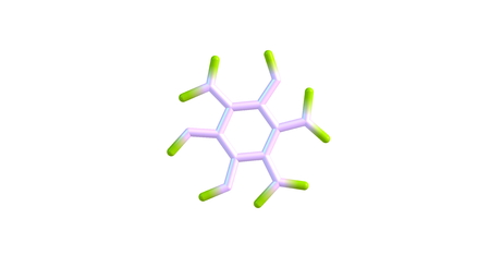 organic compound: Mellitic anhydride, the anhydride of mellitic acid, is an organic compound with the formula C12O9 Stock Photo