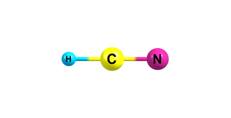 organic compound: Hydrogen cyanide is an organic compound with the chemical formula HCN. It is a colorless, extremely poisonous liquid that boils slightly above room temperature