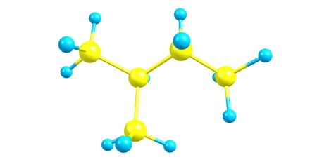 propellant: Isopentane or methylbutane is a branched-chain alkane with five carbon atoms