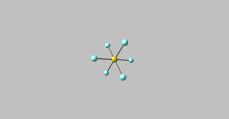 gaseous: Sulfur hexafluoride is an inorganic, colorless, odorless, non-flammable, extremely potent greenhouse gas which is an excellent electrical insulator. 3d illustration Stock Photo