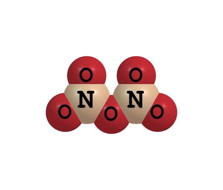 二酸化窒素は化学式の NO2 を化...