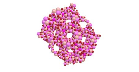 relaxant: Zeolites are microporous, aluminosilicate minerals commonly used as commercial adsorbents and catalysts. 3d illustration